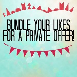 ❤❤ Bundle Your Liked Items! ❤❤